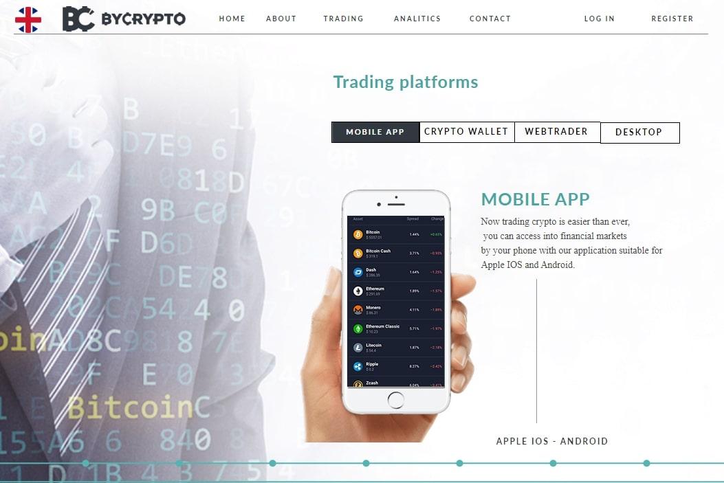 Bycrypto торговая платформа