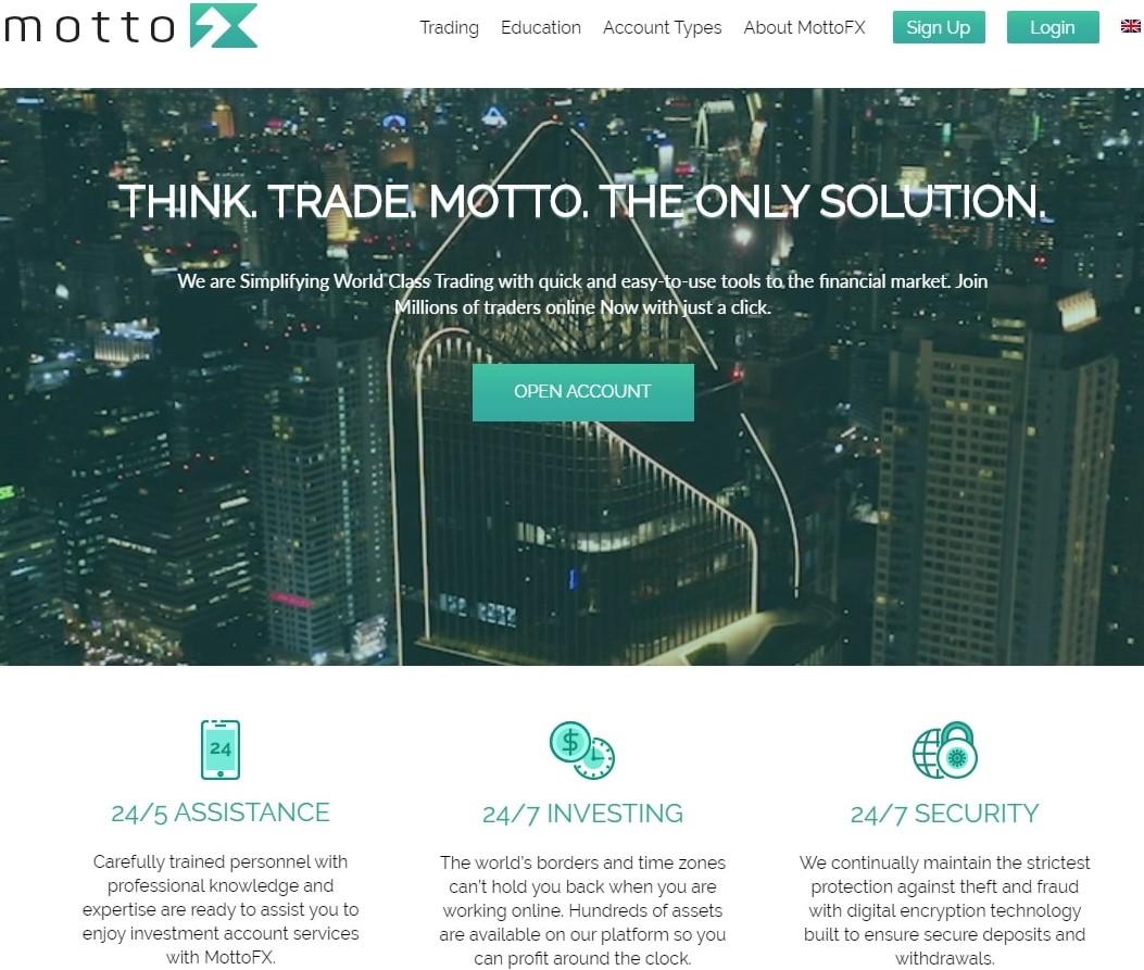 MottoFx обзор брокера